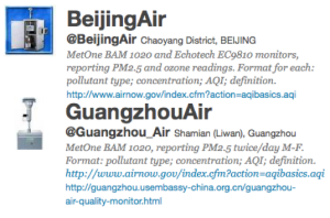 US Tweets China Air Pollution, Again