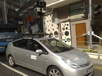 Google Street View comes to HK