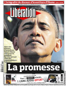 Best Obama Front Pages in Europe