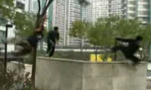 Semi-Suicidal Parkour in Beijing