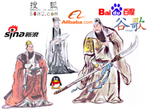 Three Kingdoms of China's Internet